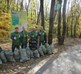 21 октября провели экологический пикник