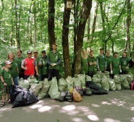 Ставропольские эко-волонтёры за полгода вынесли из леса 500 мешков мусора