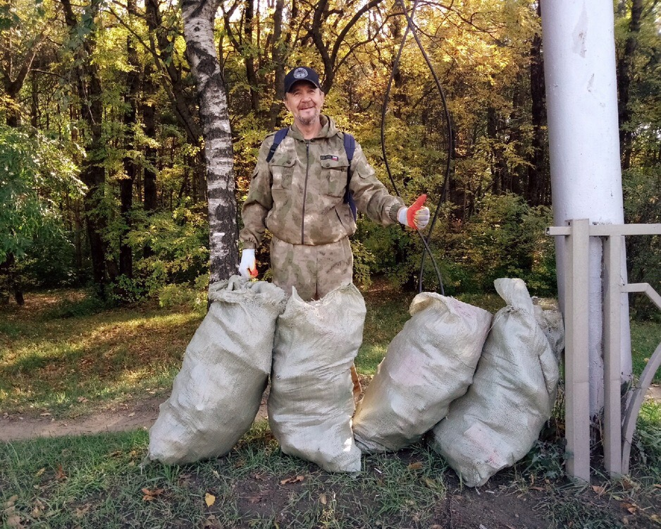 Откуда мусор в нашем лесу?