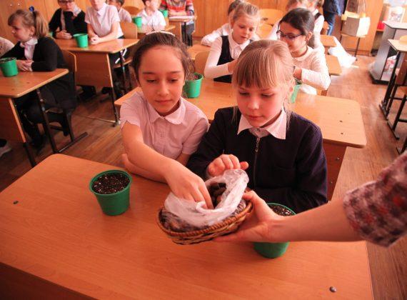 Эко-уроки в селе Донское