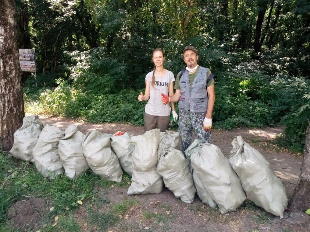 Наши уборки меняют лес